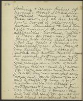 May Bragdon Diary, November 25, 1893, p. 276