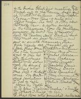 May Bragdon Diary, November 27, 1893, p. 278