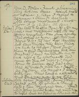 May Bragdon Diary, November 30, 1893 – December 2, 1893, p. 283