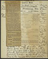 Occluded Image of May Bragdon Diary, December 5, 1893 – December 7, 1893, p. 286