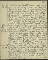 May Bragdon Diary, December 20, 1893 – December 23, 1893, p. 291