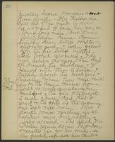 May Bragdon Diary, April 30, 1895 – May 1, 1895, p. 20