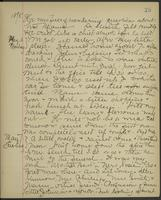 May Bragdon Diary, May 5, 1895 – May 7, 1895, p. 25