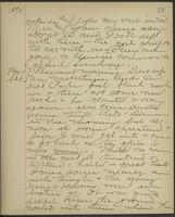 May Bragdon Diary, May 10, 1895 – May 11, 1895, p. 29