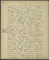 May Bragdon Diary, May 24, 1895 – May 25, 1895, p. 42