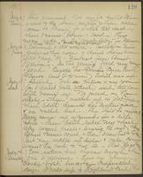 May Bragdon Diary, July 11, 1895 – July 14, 1895, p. 129