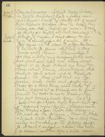 May Bragdon Diary, July 3, 1905 – July 4, 1905, p. 16