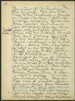 May Bragdon Diary, July 29, 1905 – July 30, 1905, p. 22