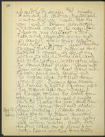 May Bragdon Diary, August 12, 1905 – August 13, 1905, p. 26