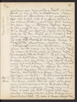 May Bragdon Diary, August 26, 1905 – August 27, 1905, p. 37