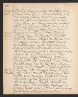 May Bragdon Diary, July 20, 1895 – July 21, 1895, p. 134