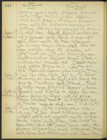 May Bragdon Diary, July 7, 1906 – July 11, 1906, p. 144
