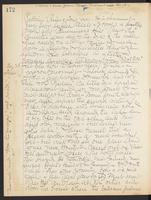 May Bragdon Diary, August 27, 1906 – August 28, 1906, p. 172