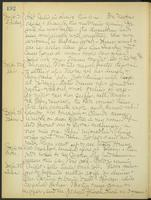 May Bragdon Diary, September 21, 1906 – September 25, 1906, p. 192