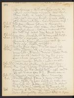 May Bragdon Diary, October 14, 1906 – October 19, 1906, p. 202
