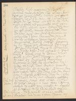May Bragdon Diary, October 21, 1906 – October 23, 1906, p. 206