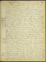 May Bragdon Diary, October 23, 1906 – October 28, 1906, p. 207