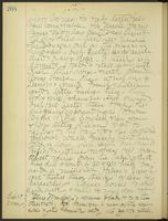 May Bragdon Diary, October 28, 1906 – October 29, 1906, p. 208