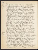 May Bragdon Diary, November 4, 1906 – November 5, 1906, p. 210
