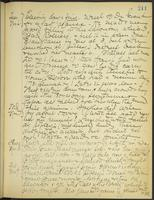 May Bragdon Diary, November 6, 1906 – November 9, 1906, p. 211