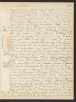 May Bragdon Diary, November 12, 1906 – November 16, 1906, p. 213