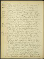May Bragdon Diary, December 2, 1906 – December 6, 1906, p. 218