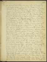 May Bragdon Diary, September 8, 1906 – December 6, 1906, p. 219