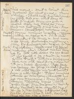 May Bragdon Diary, May 12, 1907 – May 16, 1907, p. 257