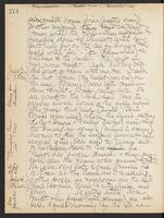 May Bragdon Diary, July 2, 1907 – July 4, 1907, p. 274