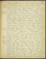 May Bragdon Diary, January 28, 1908 – February 2, 1908, p. 41