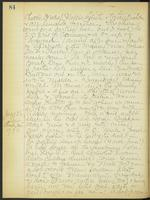 May Bragdon Diary, July 25, 1908 – July 26, 1908, p. 84