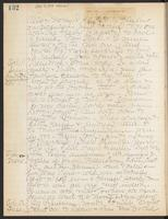 May Bragdon Diary, October 10, 1908 – October 13, 1908, p. 132