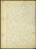May Bragdon Diary, October 15, 1908 – October 17, 1908, p. 134