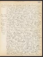 May Bragdon Diary, November 23, 1908 – November 26, 1908, p. 143