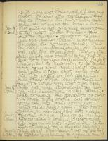 May Bragdon Diary, January 15, 1909 – January 20, 1909, p. 159