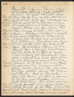 May Bragdon Diary, March 22, 1909 – March 30, 1909, p. 174