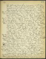May Bragdon Diary, April 15, 1909 – April 23, 1909, p. 179