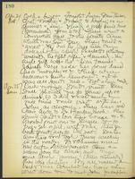 May Bragdon Diary, April 24, 1909 – April 25, 1909, p. 180