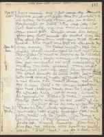 May Bragdon Diary, May 29, 1909 – May 31, 1909, p. 187