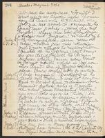 May Bragdon Diary, July 13, 1909 – July 17, 1909, p. 204