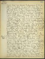 May Bragdon Diary, August 6, 1909 – August 7, 1909, p. 211