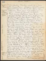 May Bragdon Diary, September 9, 1909 – September 12, 1909, p. 230