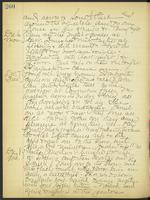 May Bragdon Diary, December 5, 1909 – December 8, 1909, p. 260