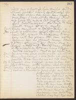 May Bragdon Diary, December 15, 1909 – December 19, 1909, p. 263