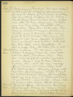 May Bragdon Diary, December 25, 1909 – December 27, 1909, p. 266