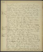 May Bragdon Diary, August 26, 1895 – August 29, 1895, p. 184