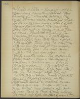 May Bragdon Diary, August 30, 1895, p. 186