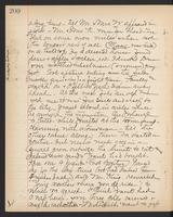 May Bragdon Diary, September 8, 1895, p. 200