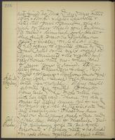 May Bragdon Diary, September 29, 1895 – October 1, 1895, p. 216