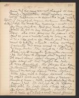 May Bragdon Diary, October 26, 1895 – October 27, 1895, p. 233